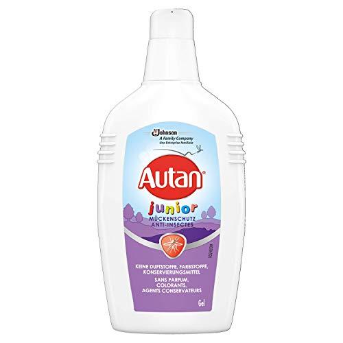 Autan Junior Gel Insektenschutz Gel für Körper und Gesicht, zum Schutz vor heimischen Mücken, für Kinder ab 2 Jahren, 1er Pack (1 x 100 ml)