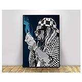 Lil Wayne Pop Art Hiphop Rapper Music Singer Poster Print