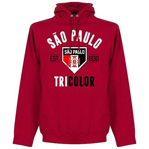 Retake Sao Paulo Established Kapuzenpullover - rot - XL