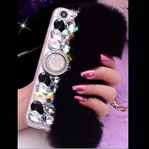 La Funda Protectora con Soporte de Anillo Diamond 3D es Adecuada para Samsung Galaxy J3 J5 J7 2016 A3 A5 2017 J4 J6 J8 A6 A7 A8 Plus A9 2018 Funda para teléfono móvil, 5, para J3 2016 J310