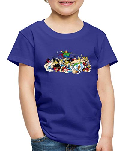 Asterix & Obelix - Attacke Kinder Premium T-Shirt, 134-140, Königsblau