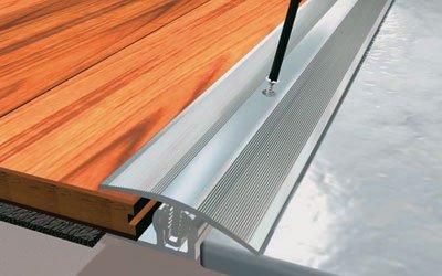 PROVARIO Übergangsprofil eloxiert edelstahl 12 - 25 mm; 1 Meter lang 31,36 EUR