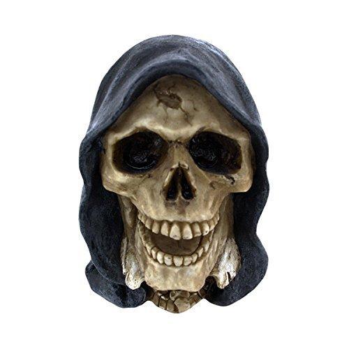 Nemesis Now Reaper Hooded Skull Ornament