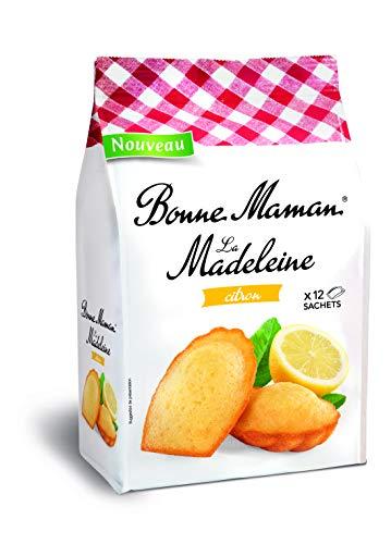 Bonne Maman Madeleines pur Beurre Citron x12 en sachet individuel 300g