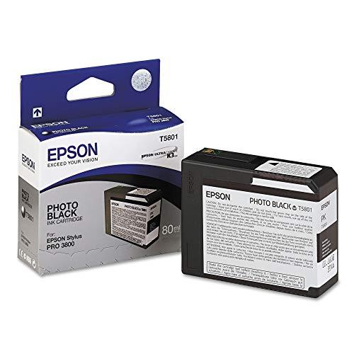 Epson - Cartucho de Tinta para Stylus Pro 3800/3880, Negro