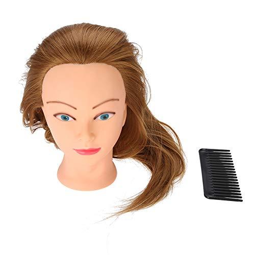Haar Mannequin, Kapsalon Styling Oefenhoofd Mannequin Kappers Training Hoofd Pruik Praktijkgereedschap voor wassen, krullen, verven, knippen en bleken