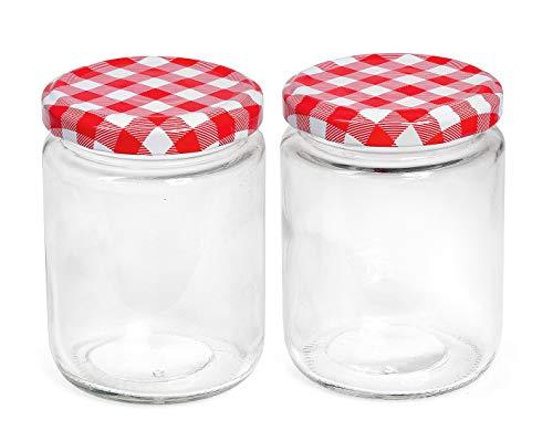 0.5 L Kilner Preserve Jar or avec couvercle-Jam Haut Vis préserver Chutney bocaux