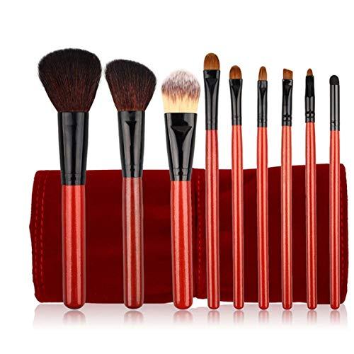 YGB Pinceaux de Maquillage, 12 pinceaux de Maquillage Professionnels Haut de Gamme, Ensemble d'outils de Maquillage pour débutants, idéal pour Une Utilisation Professionnelle et Quotidienne