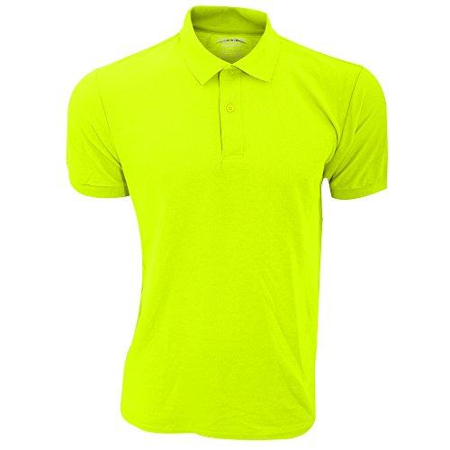 Gildan Herren DryBlend Sport Double Pique Polo Shirt (3XL) (Neon-Gelbgrün)