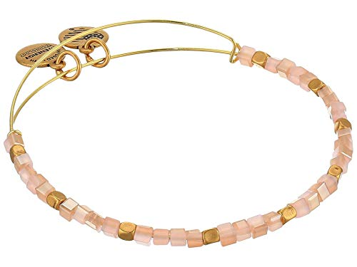 Alex and Ani Balance Bead Bracelet Carmel One Size, Rafaelian Gold (A20BBEAD03RG)