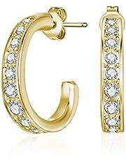 Mestige Hoop Earrings, Gold - MSER3320
