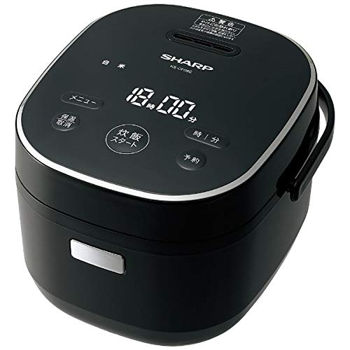 シャープ ジャー炊飯器 (3合炊き) ブラック系SHARP KS-CF05C-B