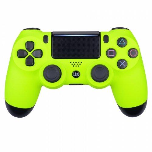 Neon Yellow Playstation 4 PS4 Dual Shock 4 Wireless Custom Controller