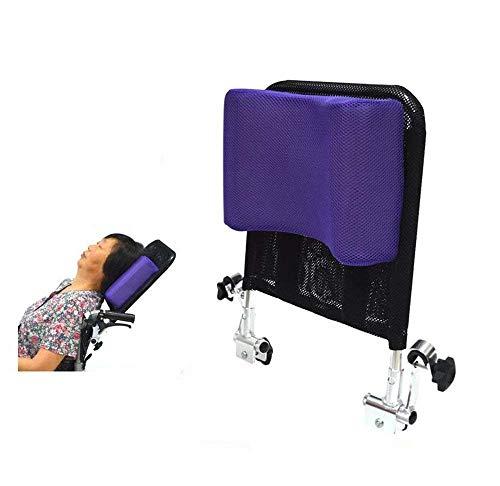Soporte para el cuello del reposacabezas de la silla de ruedas Cómodo cojín del cojín del respaldo del asiento, acolchado ajustable para adultos Accesorios universales portátiles, 16