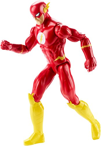 """Mattel DWM51 - DC Justice League Basis-Figur The Flash, Aktionsspielzeug, 12\"""""""