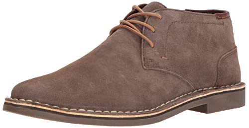 Kenneth Cole REACTION Men's Desert Sun Chukka Boot, Walnut Suede, 13