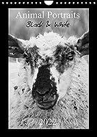 Animal Portraits Black & White 2022 CH Version (Wandkalender 2022 DIN A4 hoch): Schwarzweisse Portraits von tierischen Gesichtern. (Monatskalender, 14 Seiten )