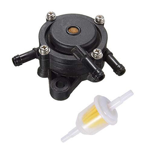 Benzinpumpe Terrassentraktor Briggs kleiner Motor Gas Vakuum Rasenmäher Stratton Rasenteile Kraftstofffilter Garten für Kohler 17-25