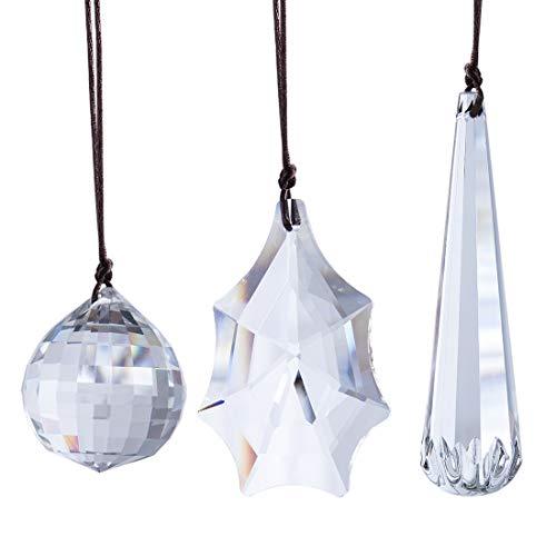 H&D HYALINE & DORA 3 piezas de repuesto para lámpara de araña...