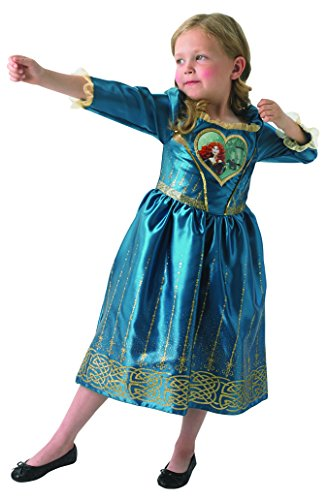 Disney Merida - Loveheart Dress Princess - Chidlren Kostüm - Large - 128cm