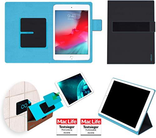 reboon Hülle für Apple iPad Mini 2019 Tasche Cover Hülle Bumper | in Schwarz | Testsieger
