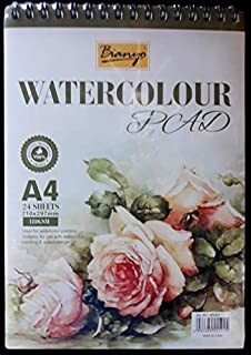 A4 Water Colour Pad 180GSM