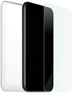 Skal + Härdat Glas För Huawei P40 Lite 5G, Silikon- Och Glasfodral, Mjukt Gelöverdrag, Skärmskydd, 9H-Hårdhet, Transparent...