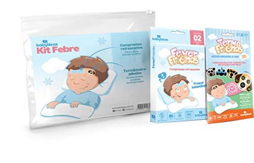 Kit Febre - 1 Termo Friends, 1 Fever Friends, Babydeas