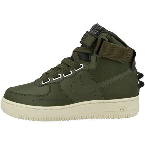 Nike Damen Sneaker high Air Force 1 High Utility, grün, EU 38