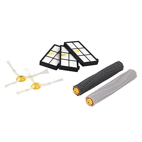 iRobot 4422280 siuministro para aspiradora - Accesorio para aspiradora (iRobot Roomba 800, Negro, Color blanco)