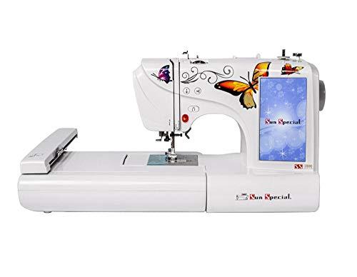 Máquina de Costura e Bordar Doméstica Ss - 1500 - Sun Special