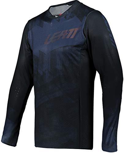 Leatt MTB 4.0 UltraWeld Jersey - Hombre Negro, XXL