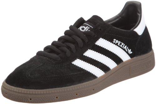 adidas Herren Handball Spezial Laufschuhe, Schwarz (Black/Runwhite), 44 2/3 EU
