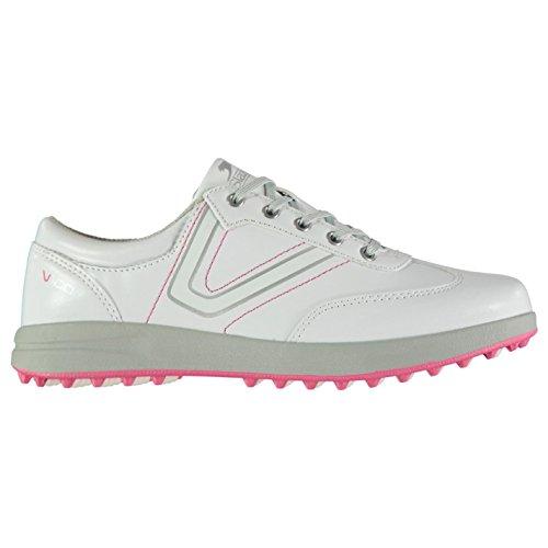 Slazenger Damen Casual Golfschuhe Ohne Spikes Weiß 37