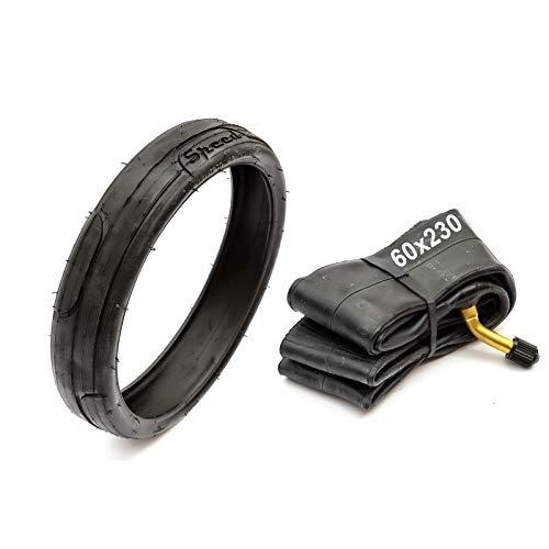 Neumático Y Cámara 60 x 230 Fácil Giratorio 60x230 Cochecito Silla de Paseo