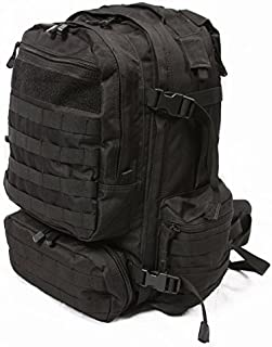 LA Police Gear Operator MOLLE Tactical, Military, Police Backpack Hydration Compatible