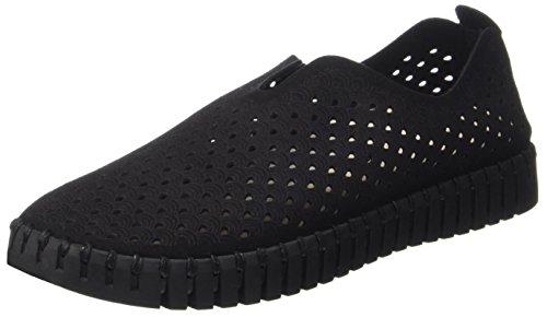 ILSE JACOBSEN Damen Slip-in Sneaker, TULIP3575, Women's Low-Top, Black (Schwarz), 5.5 UK (38 EU)