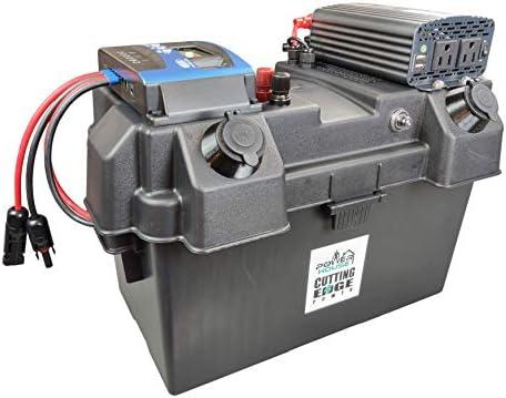 500W MPPT Premium Solar Generator with 500W Inverter Portable Battery Box 100A 12V USB product image