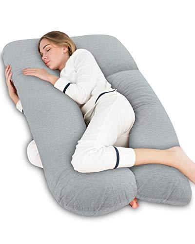 AngQi U Shaped Pregnancy Body Pillow
