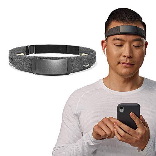 MUSE S: diadema con sensor de cerebro, monitor de meditación y pre-sueño, dispositivo de auriculares multisensor, retroalimentación de sonido sensible para la actividad cerebral, corazón, cuerpo y