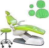 4 piezas / Set dentista asiento a prueba de polvo de la PU cubierta de cuero elástico impermeable dentista Equipme protector adecuado para clínicas dentales y salones de belleza silla del asiento ,E
