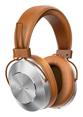 Pioneer SE-MS7BT, Auriculares de Tipo Diadema (Hires, Power Bass), Cable/NFC/Bluetooth, 25.5 x 20 x 11 cm, Marrón