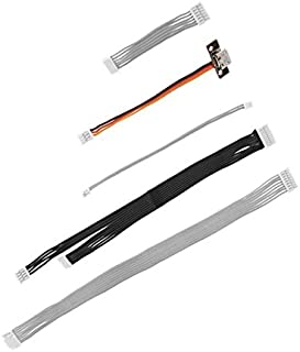 powerday Phantom 3 Professional Advanced Cable Pack Spare Part N0.54 [Signal Cable,Gimbal Connect Cable,Visual postioning Cable, Parameter Reading Cable]