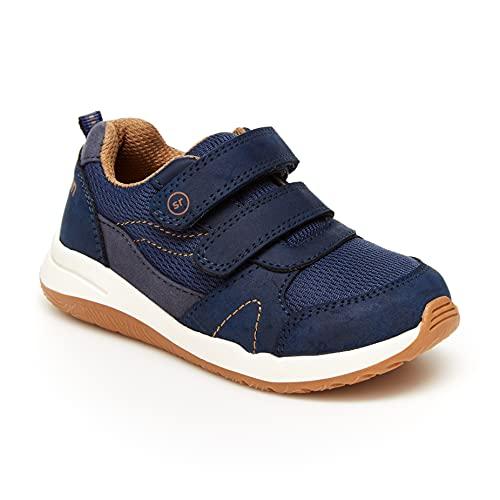 Stride Rite Boy's Arden Sneaker, Navy, 9 Toddler