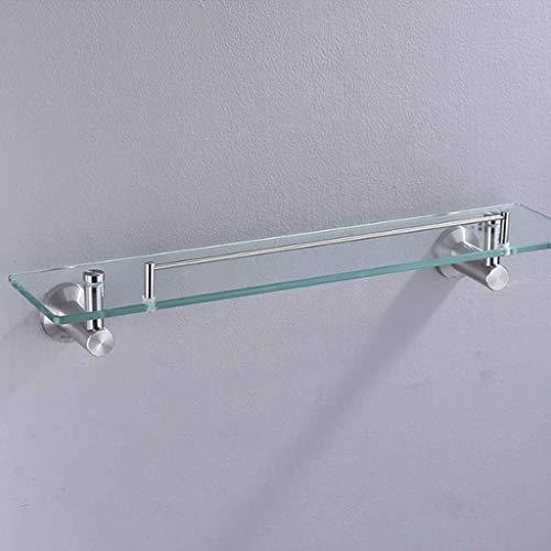 ZfgG estantes baño, baño de 8 mm de la Pared Estante Rectangular montado Espejo de Cristal