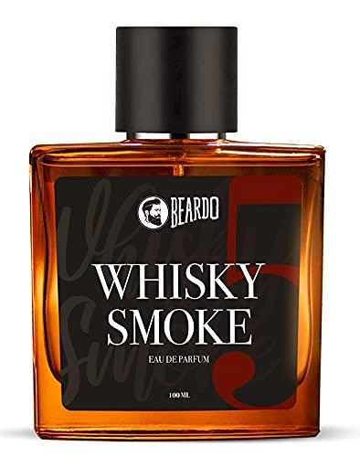 Beardo Whisky Smoke Perfume for Men   EAU DE PARFUM   Strong & Long Lasting  Spicy, Woody – Oudh   Ideal Gift for Men (100ML)