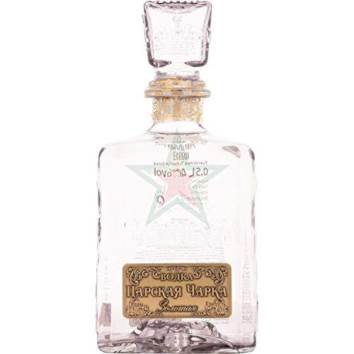 Tsarskaya Charka Zolotaya Vodka 0,5l 40% Vol.