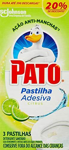 Pato Pastilha Adesiva Citrus C/ 3un