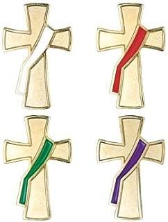 Deacon Cross Lapel Pins - Package of 4
