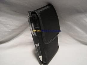 Mgbca Nylon Extended Heavy Duty XX-Large Horizontal/Vertical Cover Case W/Fixed Belt Clip fits Verizon Nokia Lumia 928 Commuter/Defender Otterbox